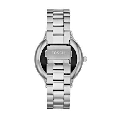 Fossil Q Gen 3 Womens Silver Tone Smart Watch-Ftw6003