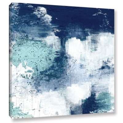 Navy II Gallery Wrapped Canvas