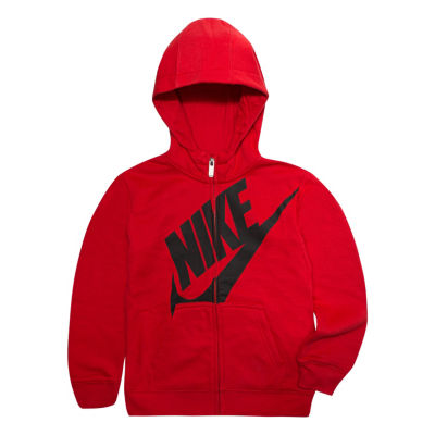 Nike Long Sleeve Fleece Hoodie-Toddler Boys