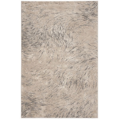 Safavieh Meadow Collection Clodagh Abstract Round Area Rug