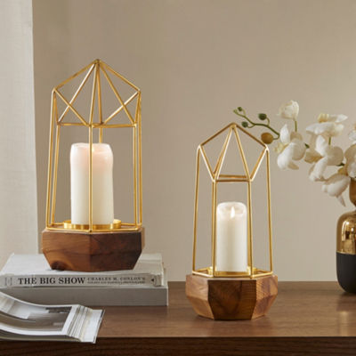 Madison Park Barraca Pyramid Candle Holder