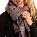 Tickled Pink Ridge Ombre Oblong Scarf