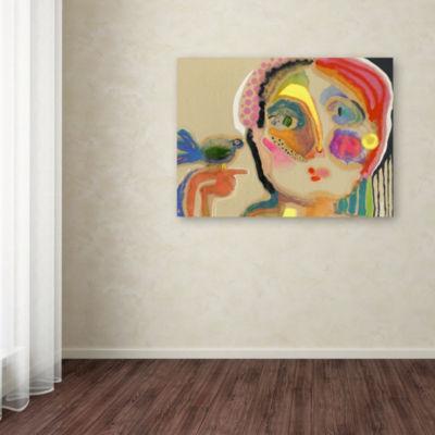 Trademark Fine Art Wyanne The Talker Giclee CanvasArt