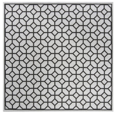 Safavieh Linden Collection Cecil Geometric SquareArea Rug