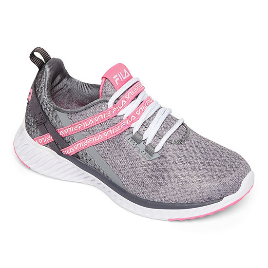 Fila Realmspeed Girls Running Shoes Lace-up - Little Kids/Big Kids