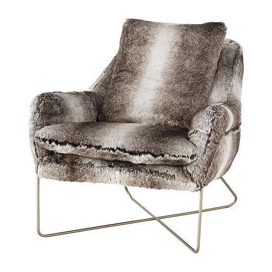 Signature Design by Ashley® Decker Faux Fur Accent Chair