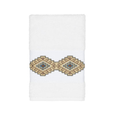 Linum Home Textiles 100% Turkish Cotton Gianna Embellished Towel Collection