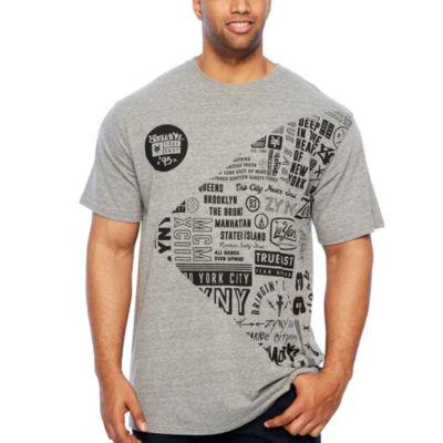 Zoo York Short Sleeve Crew Neck T-Shirt-Big and Tall