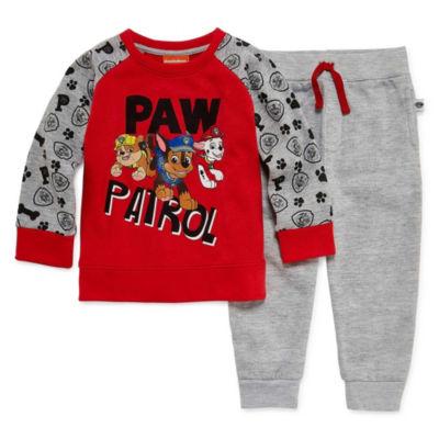 Paw Patrol 2 Pc Jogger Set-Toddler Boys