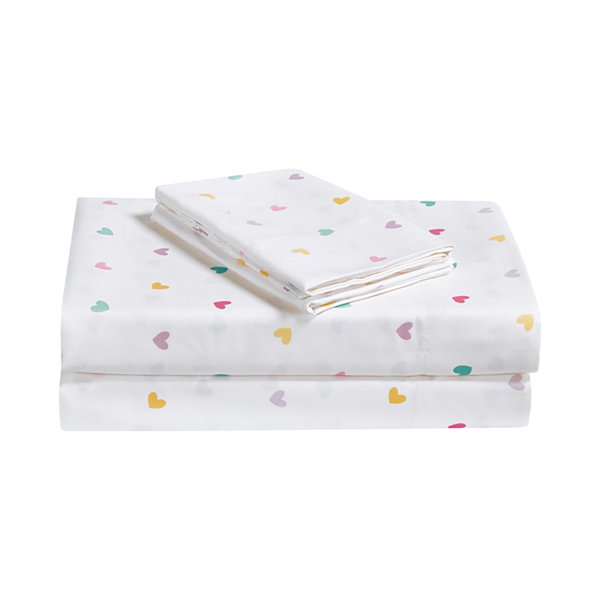 Frank And Lulu Let Love Shine Microfiber Easy Care Sheet Set