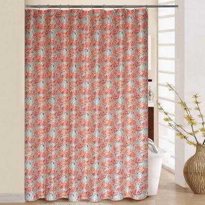 Waverly Beach Social Shower Curtain Set