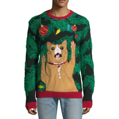 Ugly Christmas Cat Sweater