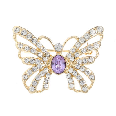 Monet Jewelry Purple Pin