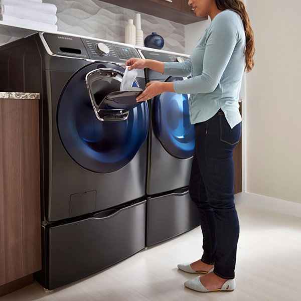 Samsung ENERGY STAR® AddWash™ 4.5 cu. ft. High-Efficiency Front-Load Washer with Steam