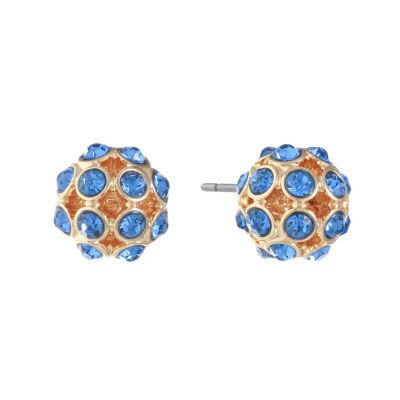 Monet Jewelry 11.5mm Stud Earrings