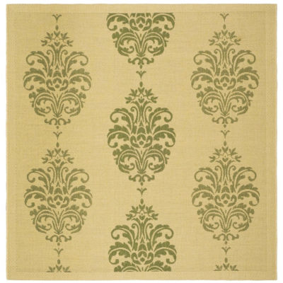 Safavieh Ray Floral Square Indoor/Outdoor Rugs