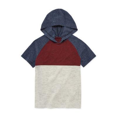 Arizona Short Sleeve Hooded T-Shirt Boys 4-20