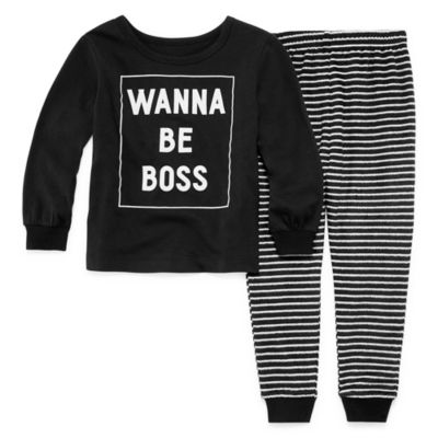 SLEEPY NITES BOSS 2 PIECE PAJAMA SET - BOY'S TODDLER