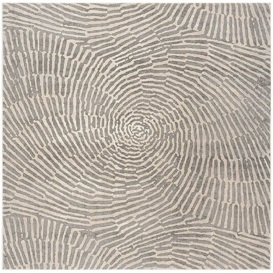 Safavieh Meadow Collection Elyse Geometric Square Area Rug
