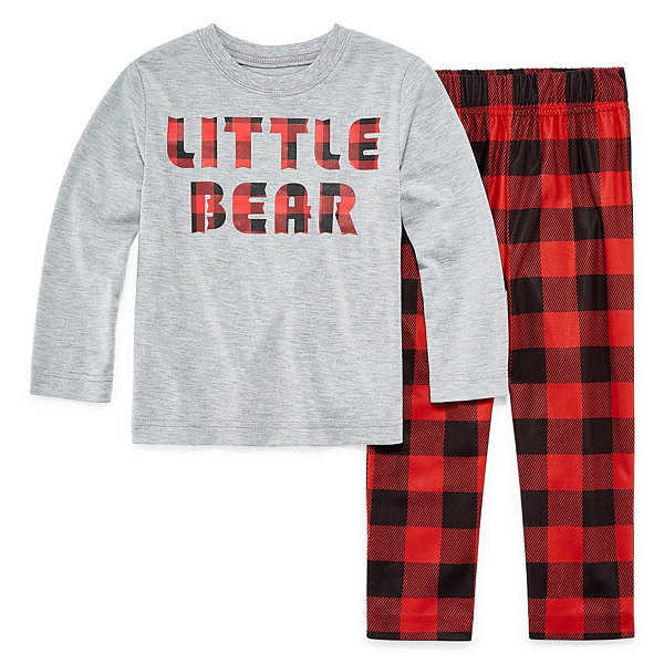 North Pole Trading Company Plaid 2 Piece Pajama - Unisex Kid's