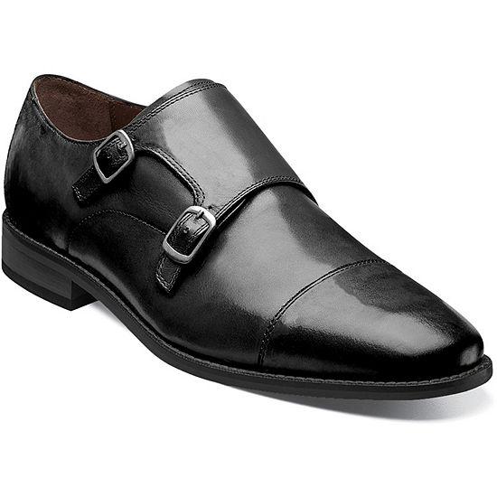 Florsheim Mens Montinaro Monk-Strap Slip-On Shoe