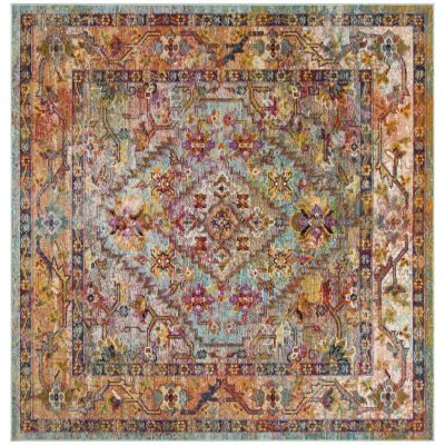 Safavieh Crystal Collection Brooklyn Oriental Square Area Rug