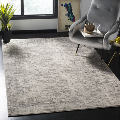 Safavieh Meadow Collection Samuel Abstract SquareArea Rug
