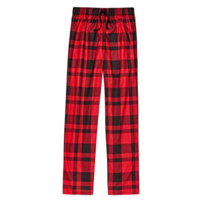 Arizona Boys Husky Flannel Pajama Pants