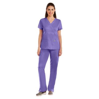 Barco® Grey's Anatomy™ 4153 3-Pocket Mock Wrap Top