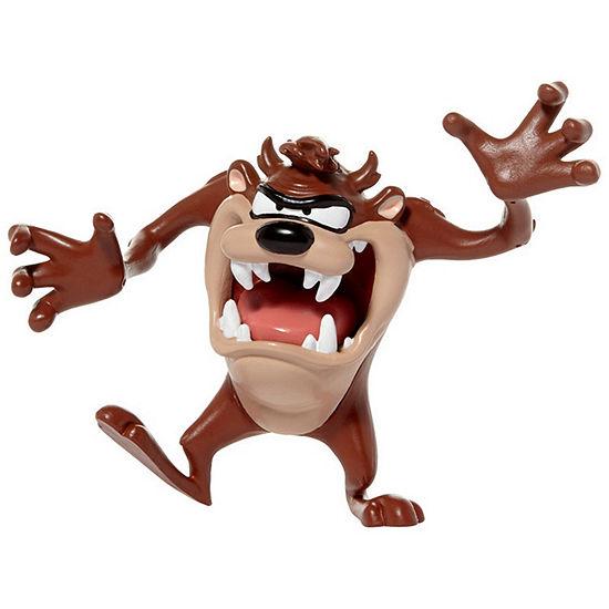 "Nj Croce Looney Tunes Tasmanian Devil 6"" BendableAction Figure"