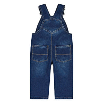 Okie Dokie Denim Overalls - Baby Boy 3M-24M
