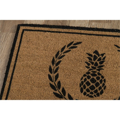 Erin Gates By Momeni Pineapple Rectangular Indoor/Outdoor Rugs
