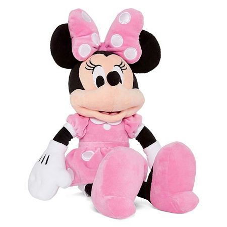 Disney Collection Pink Minnie Mouse Medium Plush, One Size , Multi