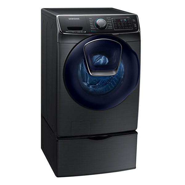 Samsung ENERGY STAR® Smart Wi-Fi Enabled AddWash™ 5.0 cu. ft. High-Efficiency Front-Load Washer with Steam
