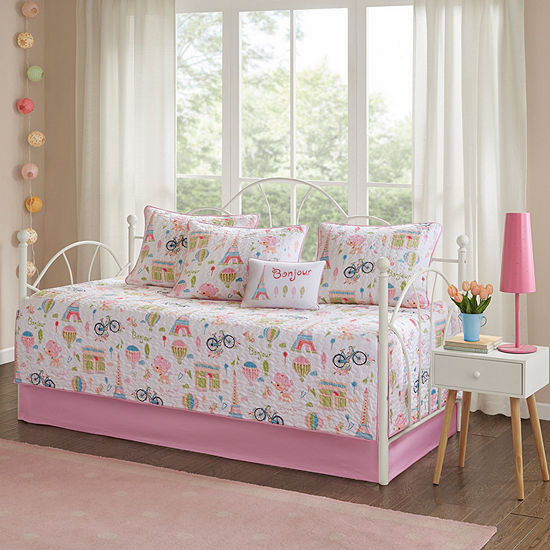 Mi Zone Kids Penelope The Poodle 6-pc. Daybed Cover Set