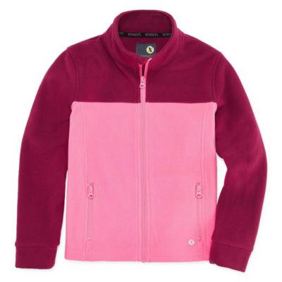 Xersion Fleece Lightweight Jacket Girls