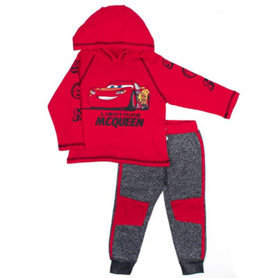 Disney Cars Fleece Pant Set-Toddler Boys