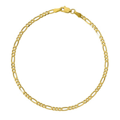 Womens 10K Gold Chain Bracelet