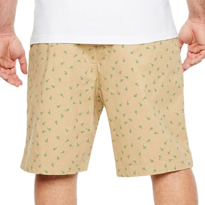Jmco Mens Mid Rise Stretch Chino Short-Big and Tall