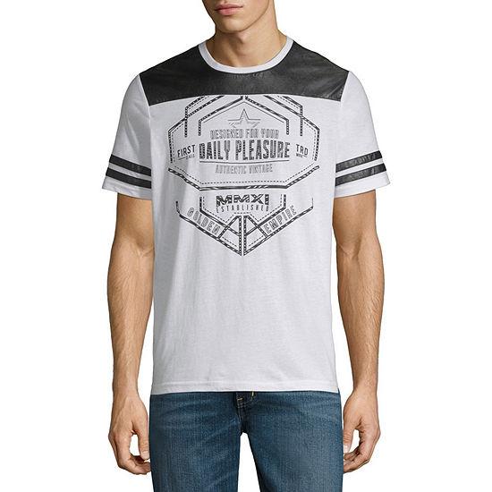 I Jeans By Buffalo Mens Crew Neck Short Sleeve T Shirt