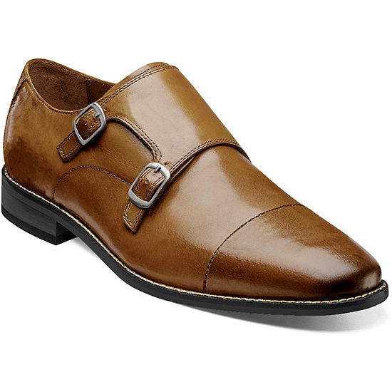 Florsheim Mens Montinaro Monk-Strap Slip-On Shoe