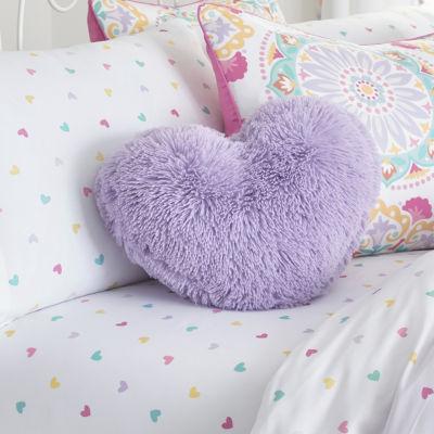 Frank and Lulu Heart Throw Pillow