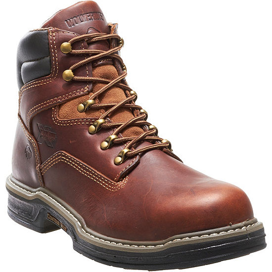 """Wolverine® Raider Mens 6"""" Steel-Toe Raider Contour Welt Work Boots"""