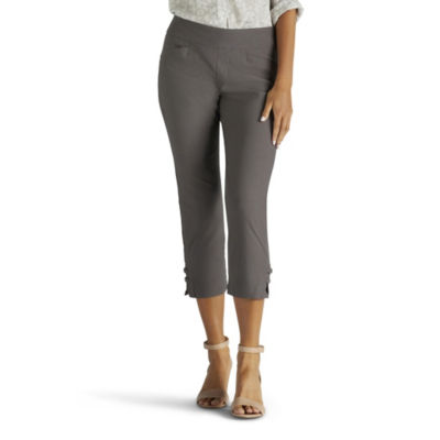 Lee Elena Pull On Capris-Petite