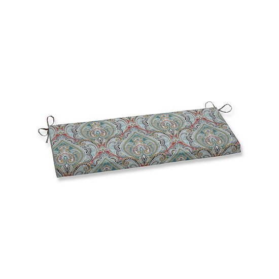 Pillow Perfect Pretty Witty Reef Patio Bench Cushion