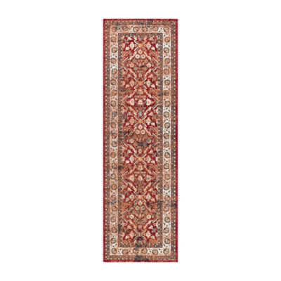 Tayse Milan Lucia Traditional Runner Rug