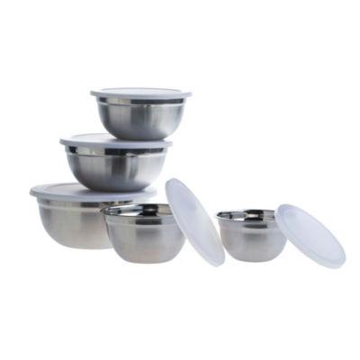 Basic Essentials Basic Essential Stainless Steel 10-pc. Prep Bowl