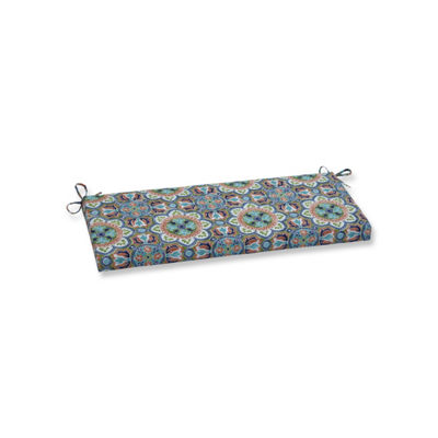 Pillow Perfect Lagoa Tile Flamingo Patio Bench Cushion