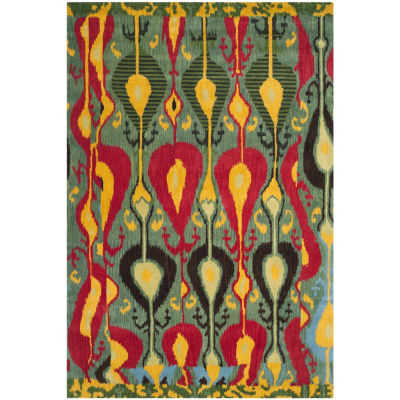 Safavieh Ikat Collection Dennis Geometric Area Rug