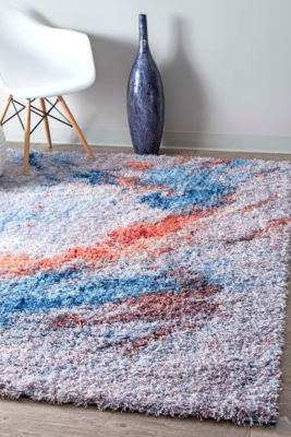 nuLoom Liliana Abstract Shag Area Rug